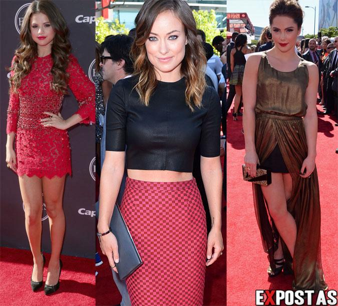 Selena Gomez, Olivia Wilde e McKayla Maroney