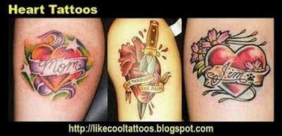 Symbolic Meaning of Heart Tattoos