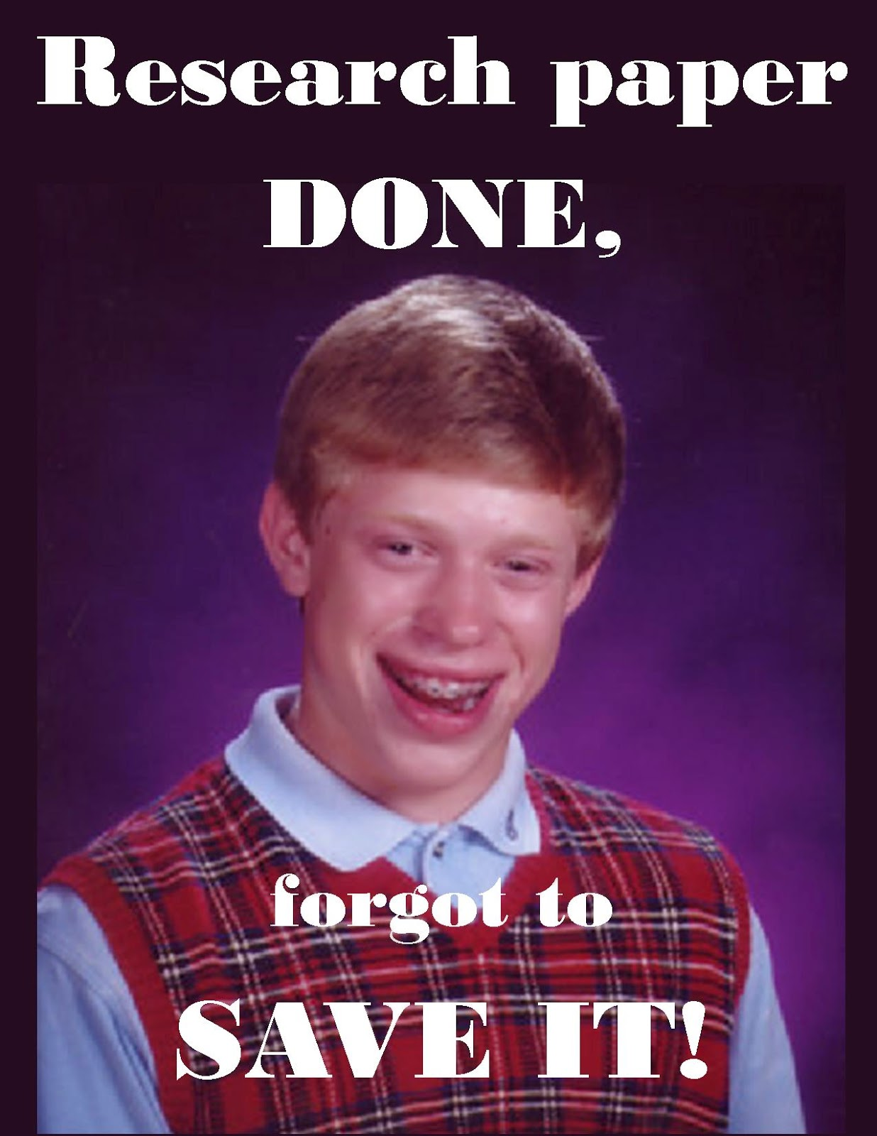 Bad luck brianne bad luck brian real life