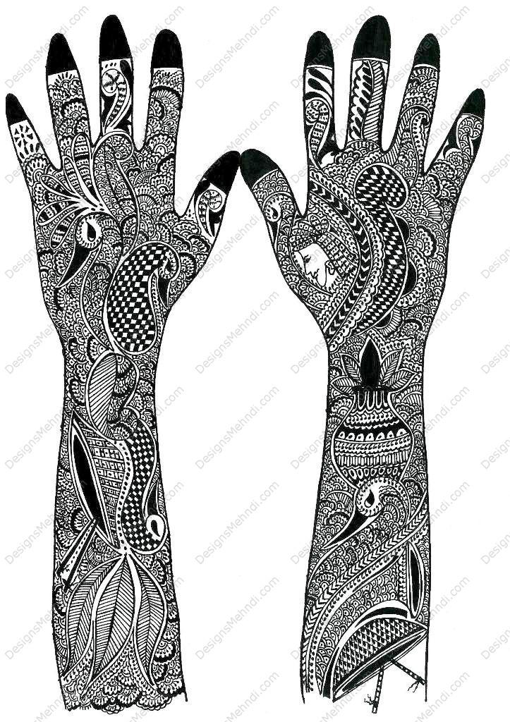 Mehndi Design Bridal Mehndi Mehndi Designs Arabic Design Beautiful