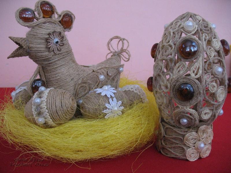 Сувениры из джута