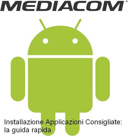 Una semplice e rapida quida in vari punti per poter installare le applicazioni consigliate in formato APK sui vari Tablet Mediacom