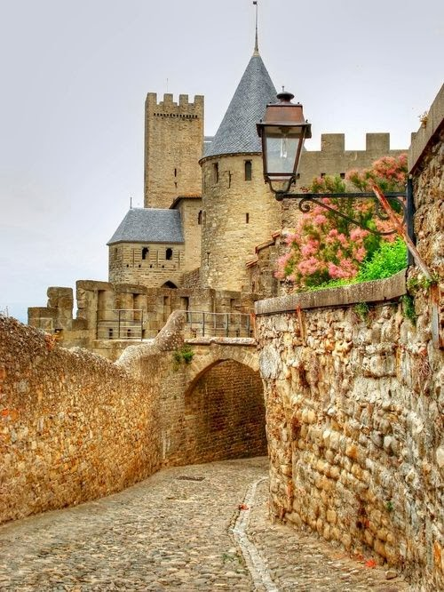 Castle in Carcassonne