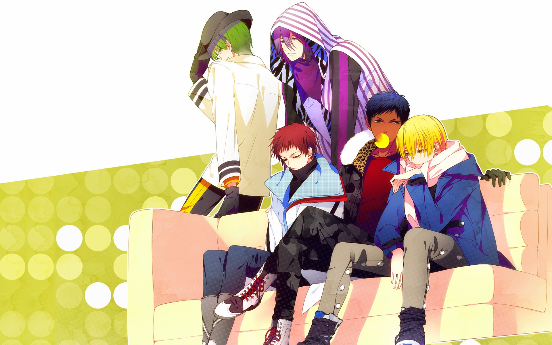 generation of miracles aomine - photo #12