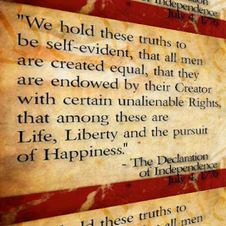 "the representation of the truths of life liberty and the pursuit of happiness in the american flag Under the banner of ""no taxation without representation  ""we hold these truths  that among these are life, liberty and the pursuit of happiness."