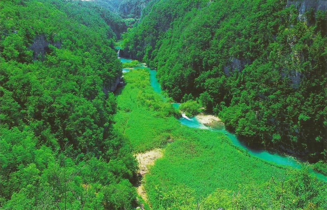 Postcards on My Wall: Plitvice Lakes National Park, Croatia (UNESCO)