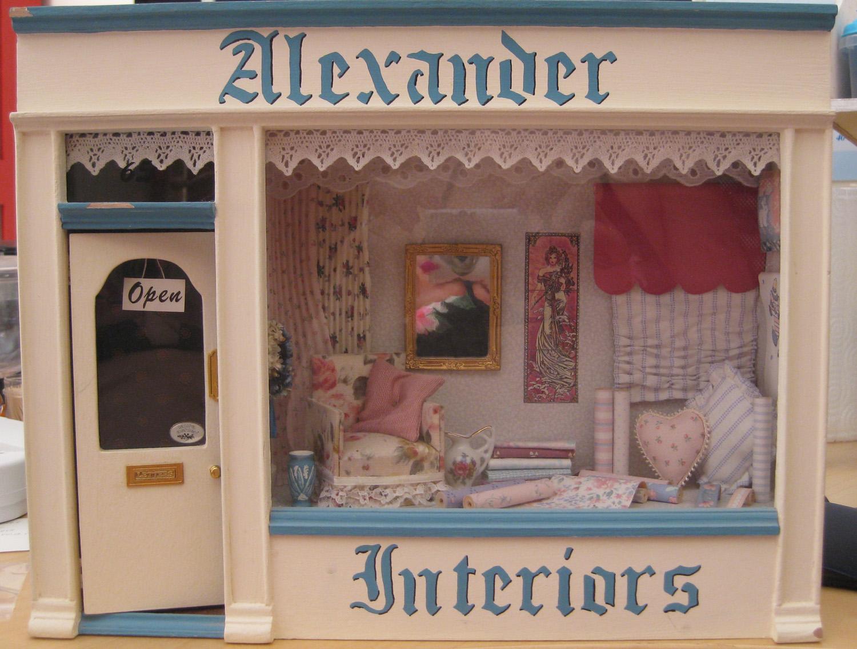 Make It Small: Interior Design Shop Front