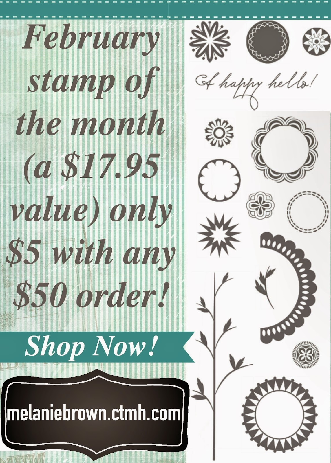 February stamp of the month