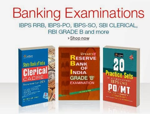 Prep Books for Bank Exams