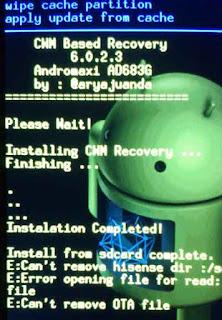 Cara Root Andromax i AD683G Tanpa PC