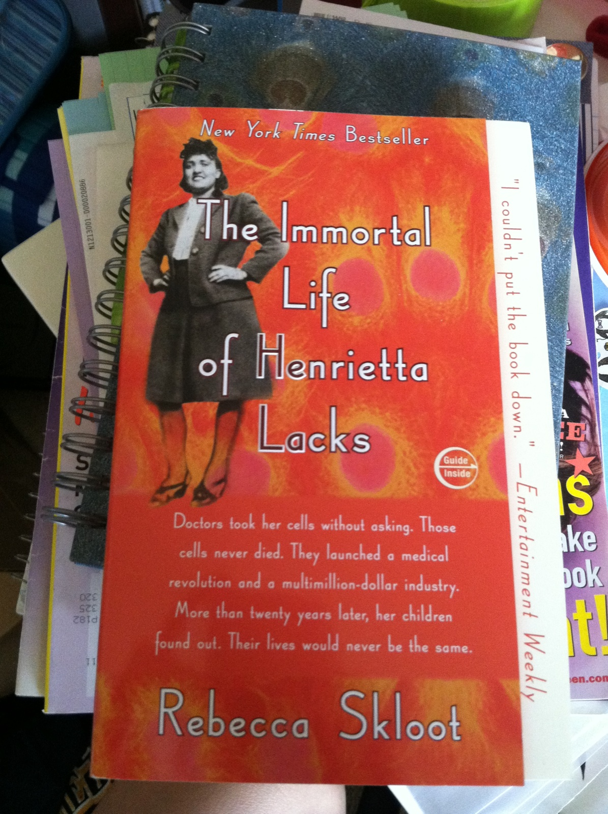 an overview of the immortal life of henrietta lacks by rebecca skloot The immortal life of henrietta lacks (2010) is a non-fiction book by american author rebecca sklootit was the 2011 winner of the national academies communication award for best creative work that helps the public understanding of topics in science, engineering or medicine.