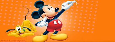 Photo couverture facebook mickey