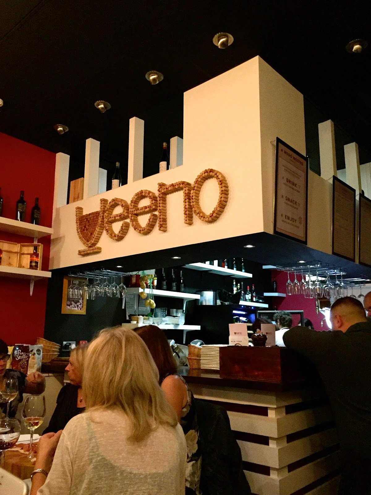Veeno Leeds wine cafe review
