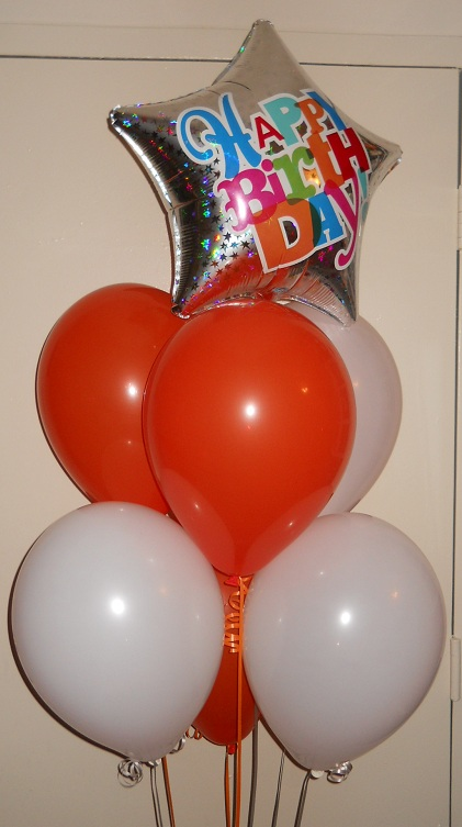 Celebrate The Day: Helium Balloon Bouquet Delivery