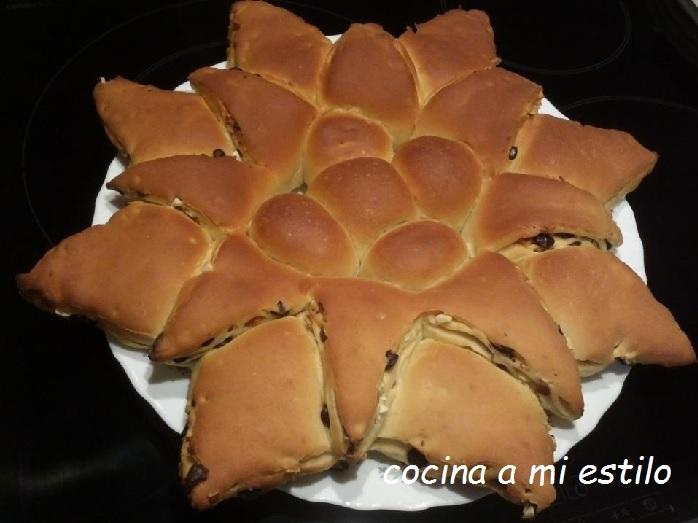 cocina a mi estilo: Brioche Girasol( Tutorial paso a paso)