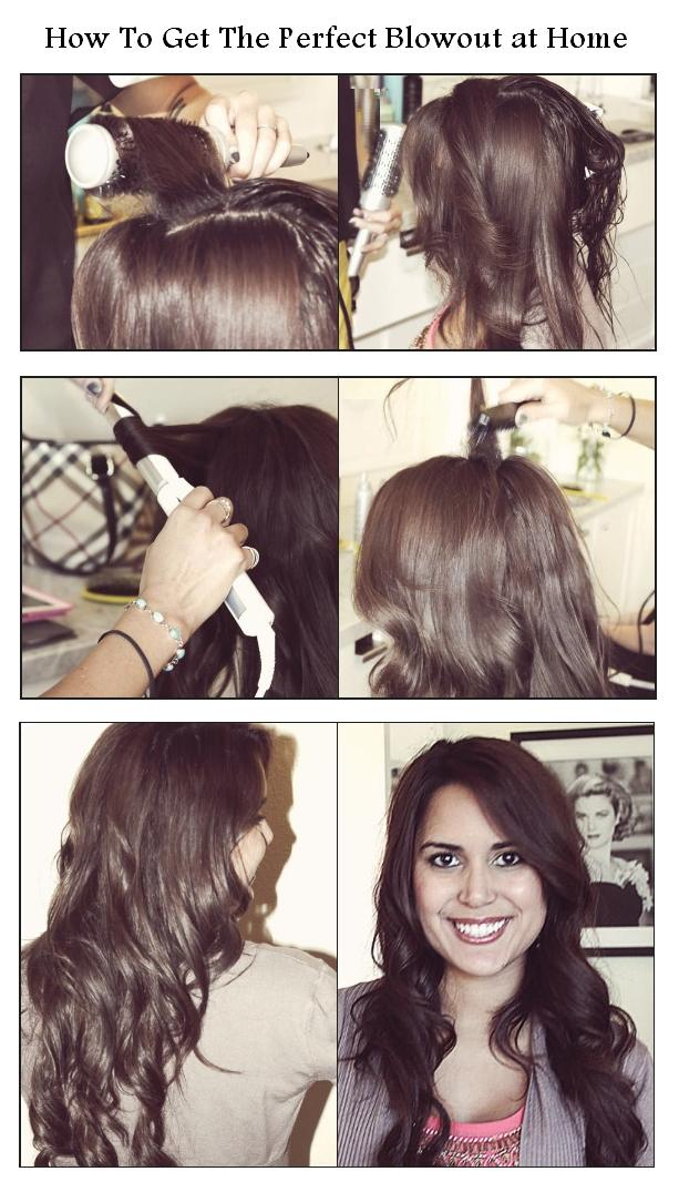Fashion style How to silky the perfect blowout for lady