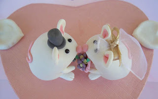 Animals Wedding Cake Toppers Image
