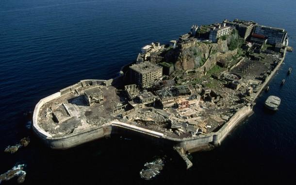 Battleship Island, Japan