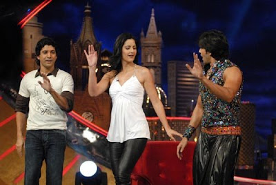Katrina on the sets of Oye It's Friday Wallpapers