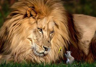 Il leone e il Topo (Esopo)
