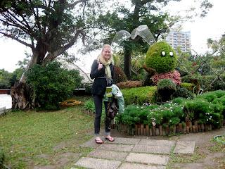 Taipei gardens and memorials