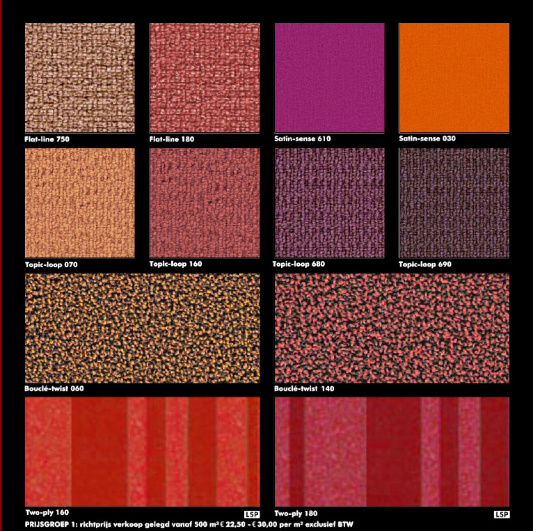 2 Seamless Carpets Tile Texture Red A