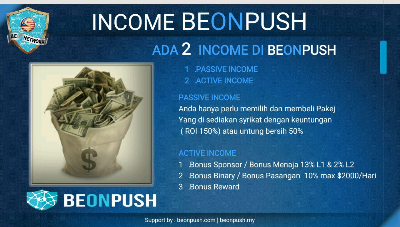MAKE MONEY WITH BEONPUSH