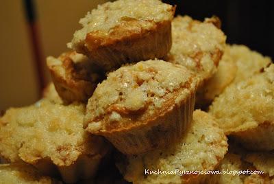 4.Muffiny jabłkowe z kruszonką