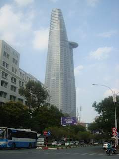 Bitexco skyscraper. Ho Chi Minh City (Saigon), Vietnam