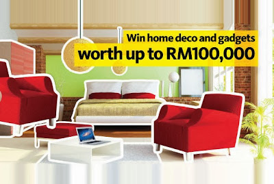 Win Home Deco and Gadget worth up to RM100 000 Maybank