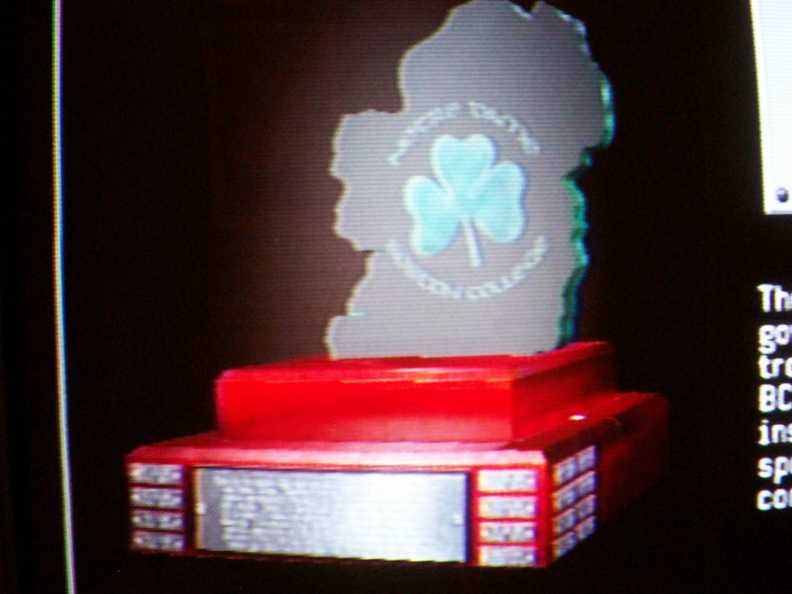 ireland trophy