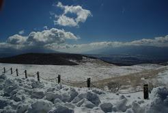 雪の霧ヶ峰