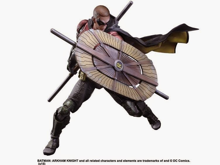 Play Arts Kai Arkham Knight Robin Revealed - Scified.com