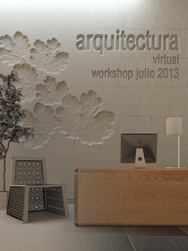 Vray blog tutoriales noticias curso verano easd 2013 3d - Easd valencia ...