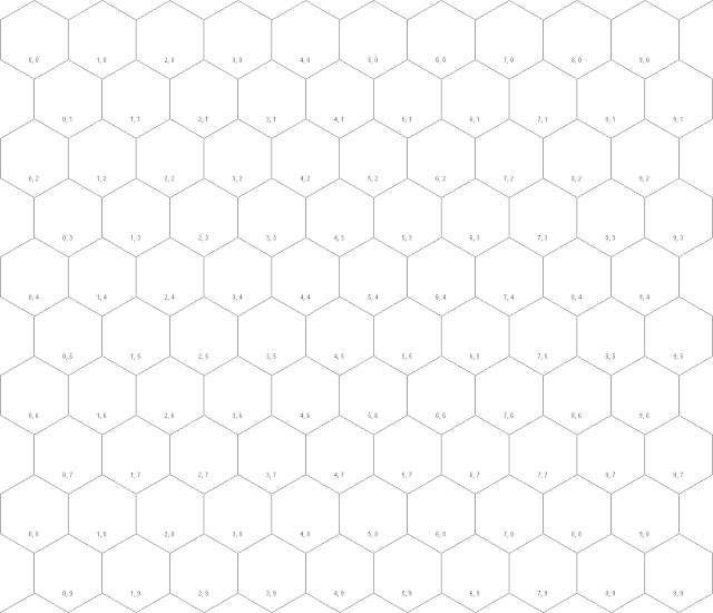 Calculating Distance in a Hexagonal Grid