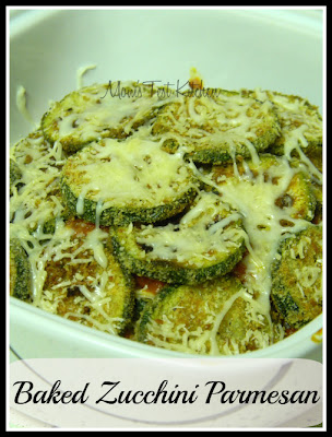 Baked Zucchini Parmesan - Mom's Test Kitchen