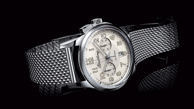 Breitling Transocean Chronograph 1915 Hand-wound Watch