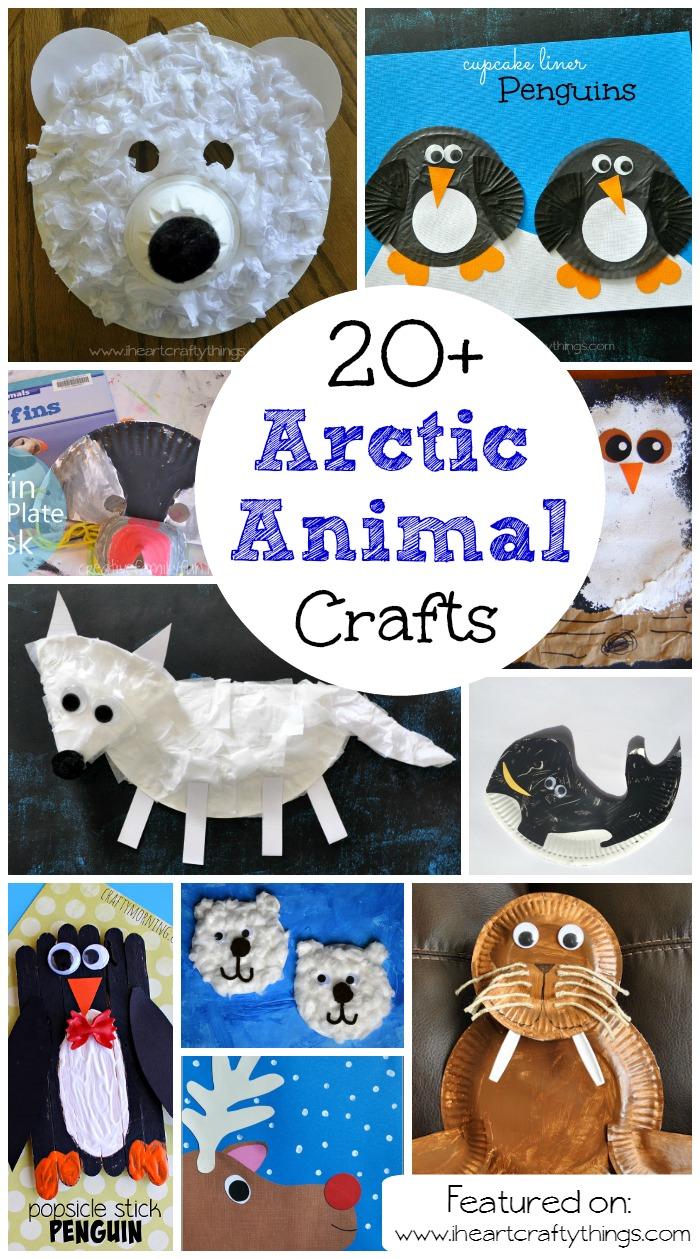 i heart crafty things 20 arctic amp antarctic animal