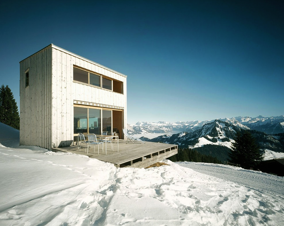 Coolest cabins contemporary ski cabin for Ski cottage