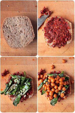 Vegan BLT-Sandwich