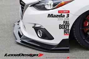 MAZDA 3 - 2013-2018 - BODY KIT & SPOILERS