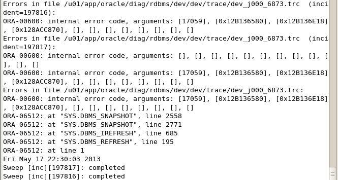 error err protocol