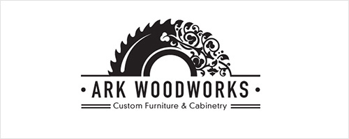 Ark Woodworks Logo Design