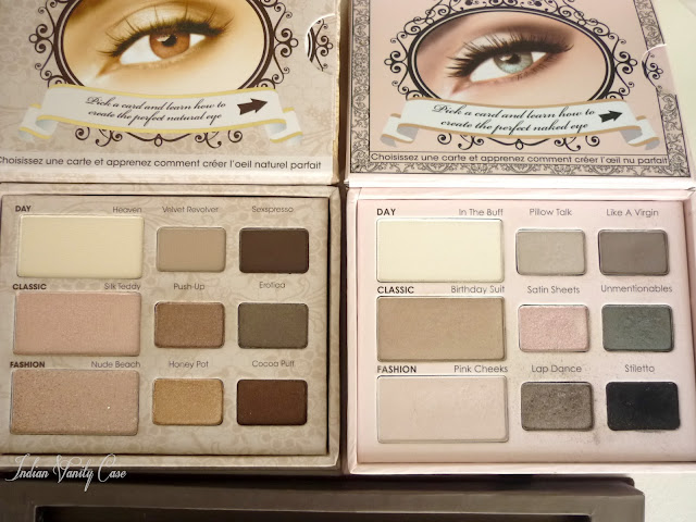 Too Faced Natural Eye Palette Vs Urban Decay