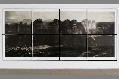 Tacita Dean, Fernweh, 2009. Gravure in eight parts.