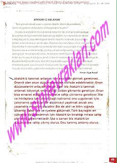 8.Sinif Turkce Enderun Yayinlari Calisma Kitabi Cevaplari Sayfa 49