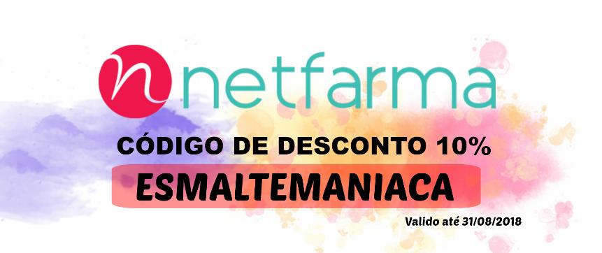 10% Desconto na Netfarma 2018