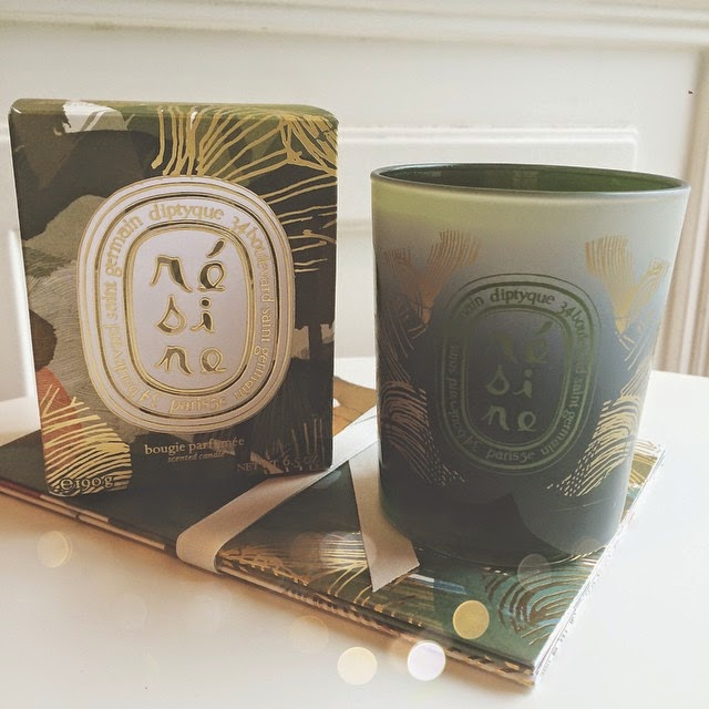 Diptyque Résine Candle for Winter 2014