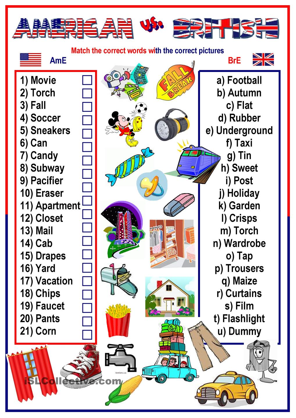 american english Is english an easy language read an article on the topic of: british and american english.