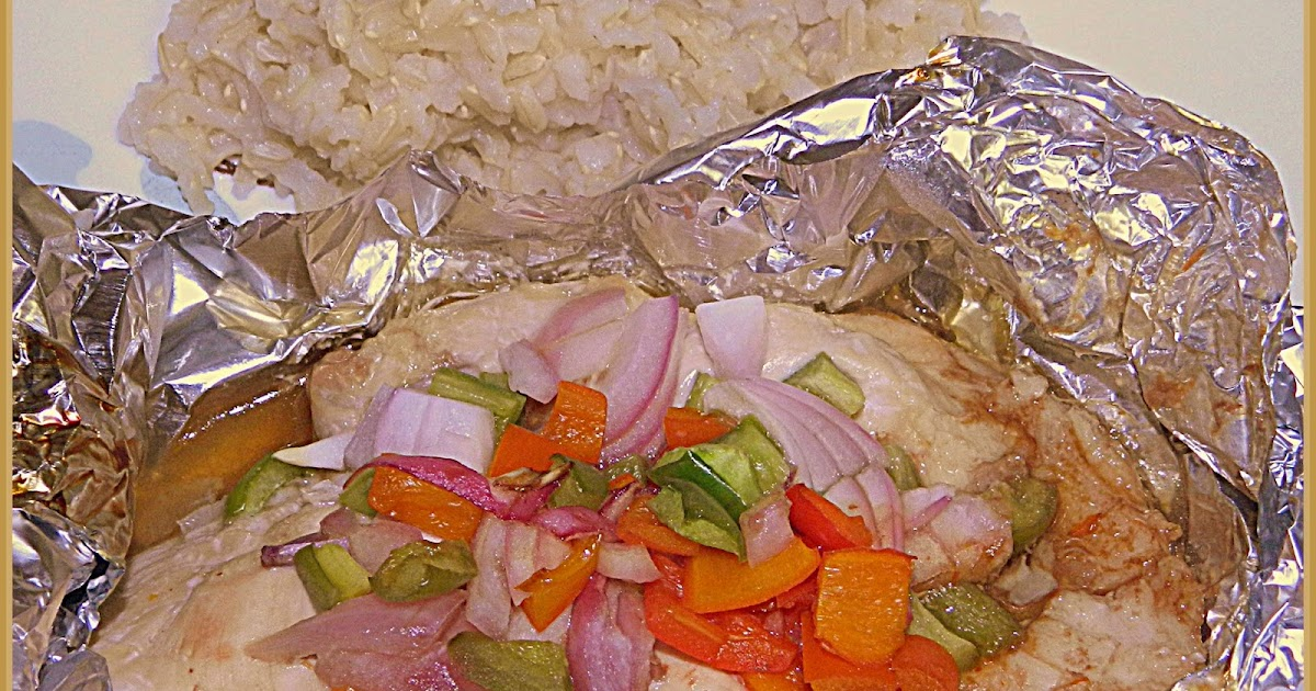 Bizzy bakes asian chicken and vegetable in foil packets for Chicken and vegetables in foil packets recipe